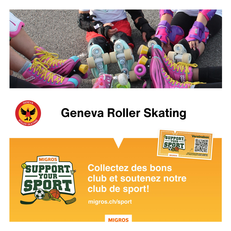 Geneva Roller Skating Support Roller Skating